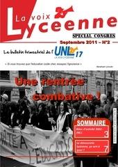 infos lyceennes 09 11
