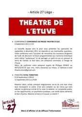 Fichier PDF newsletter version imprimable flyers