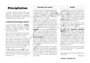 Fichier PDF precipitation