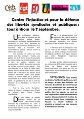 tract tous a riom le 7 septembre