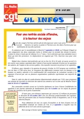 ul infos n 18 aout 2011