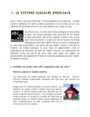 systeme scolaire us