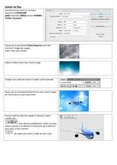Fichier PDF avion en feu