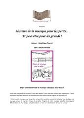 livre histoire de la musique pour les petits