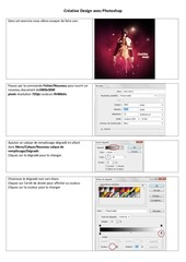 Fichier PDF creative design avec photoshop