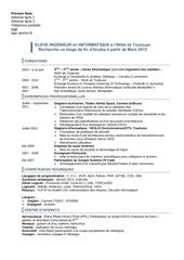 Fichier PDF cv review
