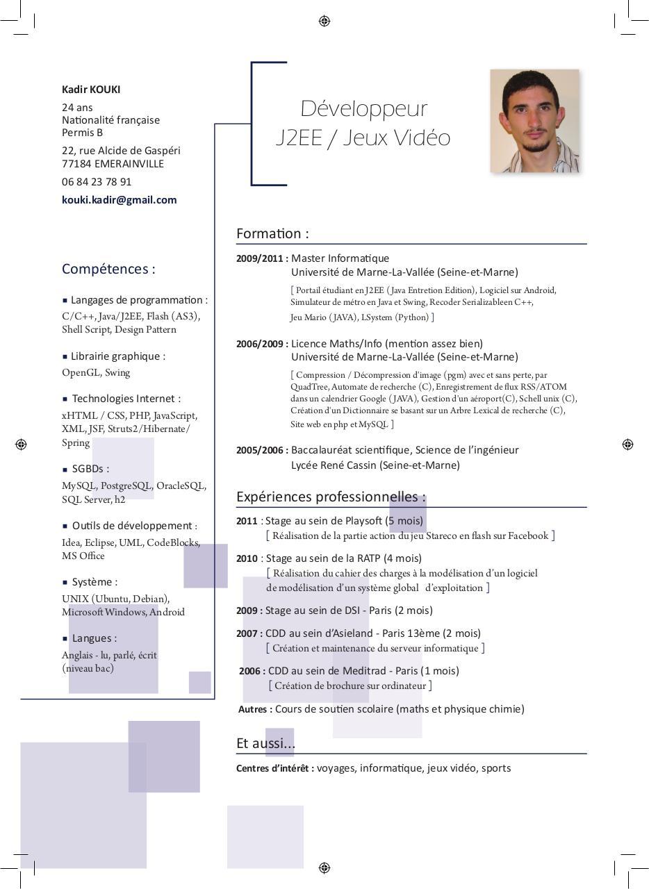 cv kadir indd - cv kouki kadir pdf