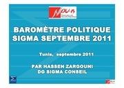barometre politique sigma septembre 2011 francais
