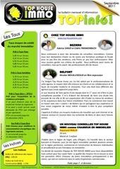 top house info septembre 2011