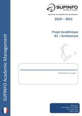 b1 projet architecture fr