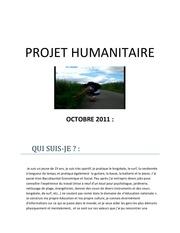 projet humanitaire suisse pdf