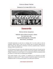 Fichier PDF saxacorda