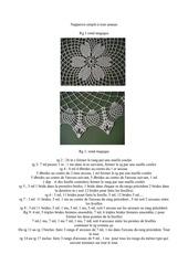 Fichier PDF napperon au tour ananas