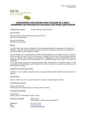 Fichier PDF vacataire archives rjm