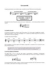 Fichier PDF les accords