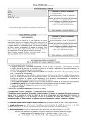 Fichier PDF certificat medical licence 1