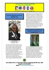 bulletin of the governor andre gbadoe september 2011