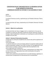 Fichier PDF convention pour l