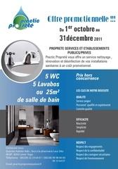 entreprise de nettoyage practic proprete togo specialiste de renovation des installations sanitaires dans les entreprises publiques et privees offre promotionnelle