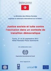 justice sociale et lutte contre l exclusion