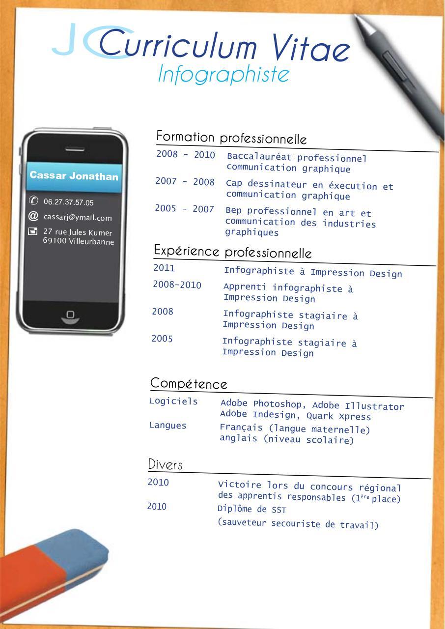 cv  cv pdf  - fichier pdf  1