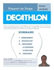 rapport decathlon