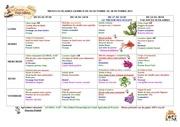 menus scolaires du 03 au 28 octobre 2011
