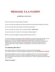 message a la nation 2 1