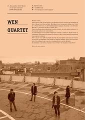 Fichier PDF wen quartet souscription