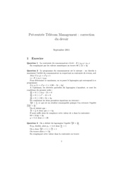 correction examen telecom 09 11