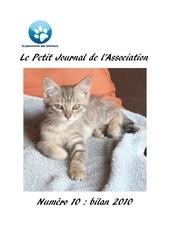 journal 10 bilan 2010