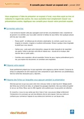 8 conseils pour reussir un expose janv10
