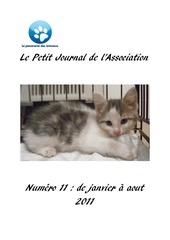 journal 11 janvier a aout 2011