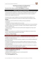 pdf pdf analyse maison modele
