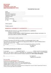 fiche inscription dynastaps