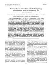 pathophysiologie nitrite