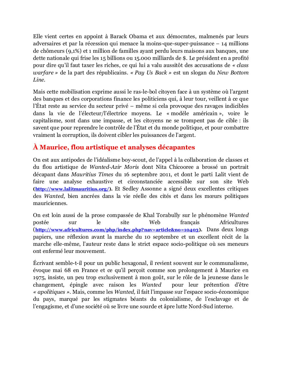 Des Wanted mauriciens au New Bottom Line etatsunien, amended MTimes-art-23092011.pdf - page 2/4