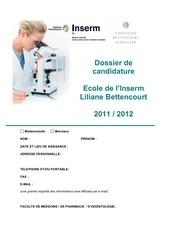 dossier de candidature 2012 3