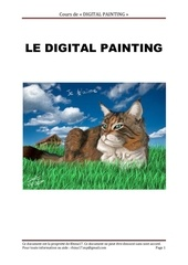 le digital painting