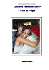 comment faire durer amour et vie de couple