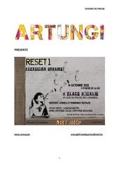 dossier de presse reset 01 artung