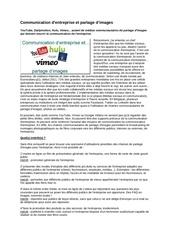 2011 10 08 communication d entreprise et partage d images