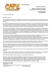 cape lettre men septembre 2011