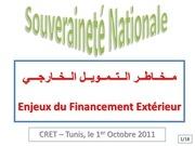 2eme reunion cret souverainete nationale 1er octobre 2011