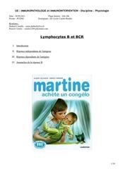 p2 immuno lb et bcr 2809