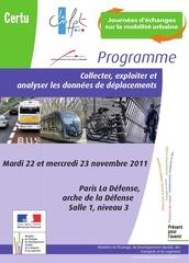 programme journ es mobilit nov2011