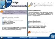 Fichier PDF brochure logiciel classement images