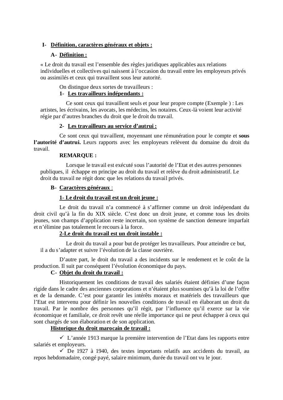 TÉLÉCHARGER LÉGISLATION DU TRAVAIL OFPPT GRATUIT