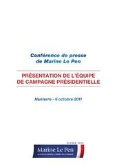 Fichier PDF equipe de campagne