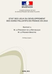 rapport etat des lieux du developpement des soins palliatifs en france en 2010